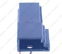 Разъем автомобильный 3-pin/контактный. Папа. 12×6 mm. Б.У