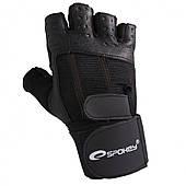 Спортивные перчатки мужские Spokey TORO черные XL