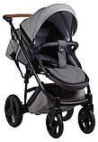 Универсальная детская коляска 2 в 1 Bair Leo GN-45, фото 4