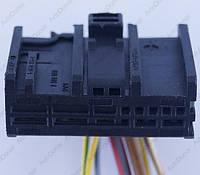 Разъем автомобильный 13-pin/контактный. Мама. 35×14 mm. Б.У