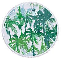 Пляжный коврик Пальмы микрофибра 150см