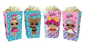 Коробки для солодощів і попкорну Лялька Лол (5 штук)