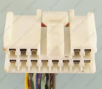 Разъем автомобильный 13-pin/контактный. Мама. 34×15 mm. Б.У