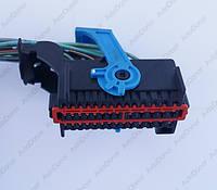 Разъем автомобильный 41-pin/контактный. Мама. 67×32 mm. Б.У