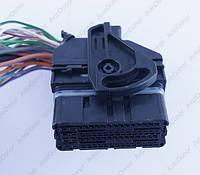 Разъем автомобильный 64-pin/контактный. Мама. 50×20 mm. Б.У