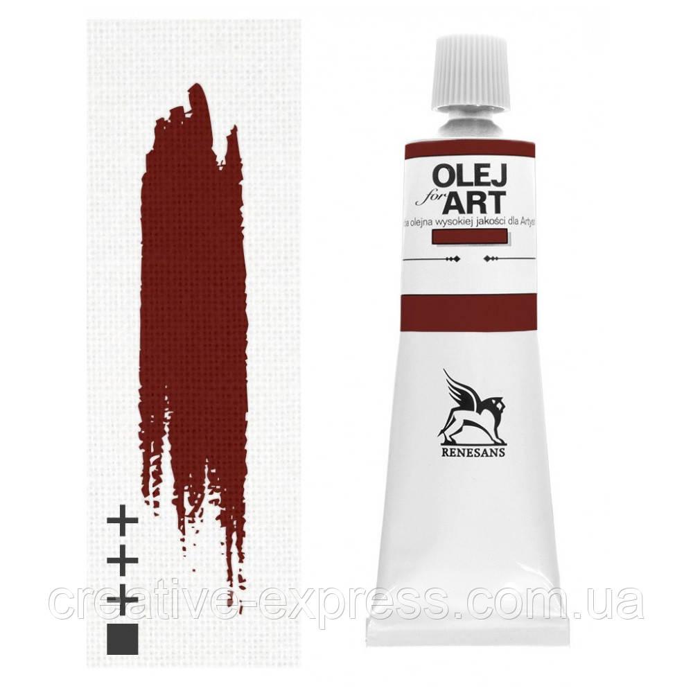 Фарба олійна, Англійська червона, 60мл, Renesans