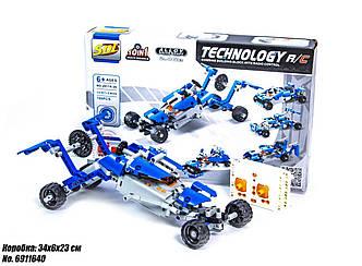 Конструктор-машинка Lego Technic 10 в 1 на пульте управления 6911640