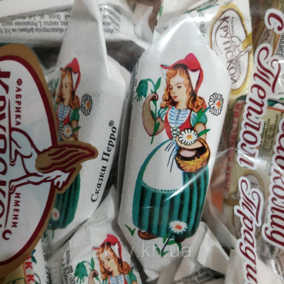"""Шоколадні цукерки,,Казки П'єро"""" Крупської 1кг"""