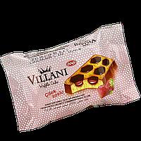 Кекс VILLANI с какао и клубничным кремом 50 г 1уп/24 шт