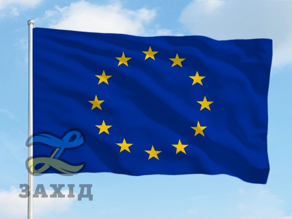 Прапор Євросоюзу друк на тканині