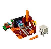 Конструктор Minecraft Майнкрафт - Портал в нижний мир Lepin 18038, фото 3