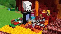 Конструктор Minecraft Майнкрафт - Портал в нижний мир Lepin 18038, фото 4