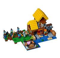 Конструктор Minecraft Майнкрафт - Фермерский домик Lepin 18039, фото 3