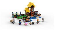 Конструктор Minecraft Майнкрафт - Фермерский домик Lepin 18039, фото 4
