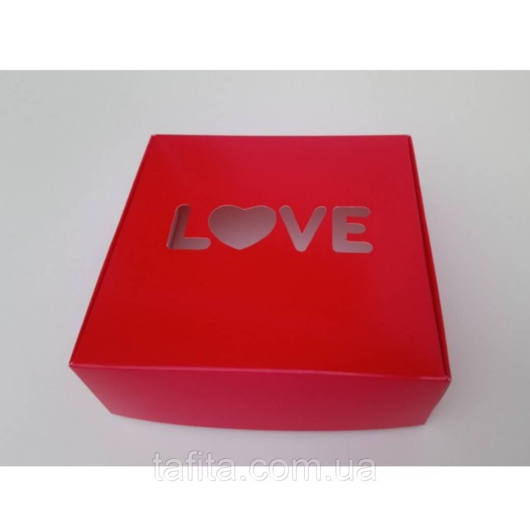 Коробка 15х15х5 love