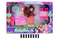 "Лялька ""Enchantimals"", з аксесуарами, TM331-3D/4D"