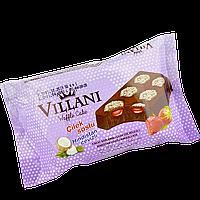 Кекс VILLANI шоколадный с какао, кокосом и клубничным кремом 50 гр 1уп/24шт