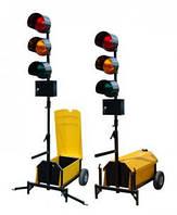 Светофоры для регулирования движением на участках  проведения дорожных работ