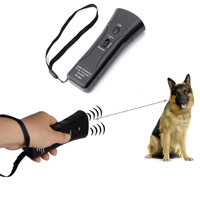Ультразвуковой  отпугиватель собак ZF853E 5039 Super Ultrasonic Dog Chaser