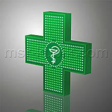 """Світлодіодний аптечний хрест 900х900 односторонній. Серія """"Bowl of Hygieia"""""""