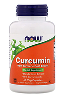 Now Curcumin From Turmeric Root Extract 60 veg caps