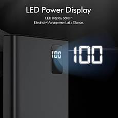 Зовнішній акумулятор ROCK M02 Power Bank 10000 mAh White, фото 3