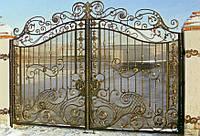 Ворота кованые в Херсоне