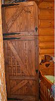 Шкаф под старину встроенный в нишу