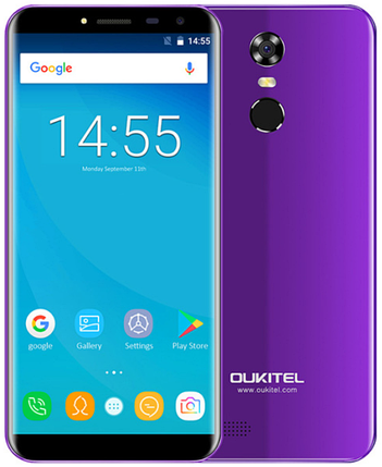 OUKITEL C8 purple, фото 2