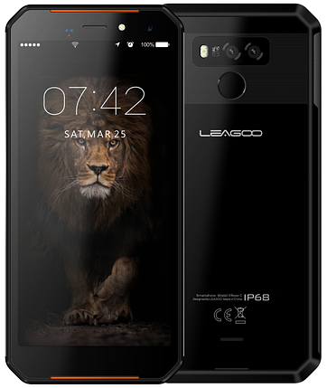 Leagoo XRover C 2/16 Gb black IP68, NFC, фото 2
