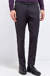 Штани чоловічі Finn Flare W17-21020-200 крою slim чорні