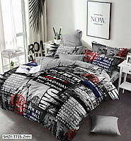 Постельное белье сатин семейное Комфорт Текстиль - Авеню