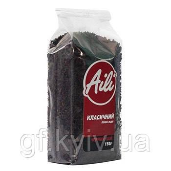 """Чай """"Классический"""" черный ТМ Aili 150 грамм в пачке (натуральный, рассыпчатый, крупнолистовой)"""