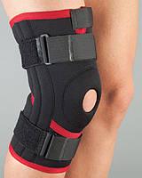 Aurafix Бандаж на колено неопрен, неразъемный, силик.кольцо, 4 спирал.ребра  103 р.S