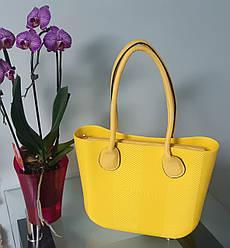 Женская сумка O bag mini в желтом переплете корпуса