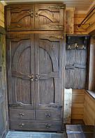 Шкаф в предбанник под старину