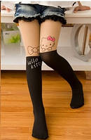 Колготки для девочки Китти   3-7 лет, фото 1