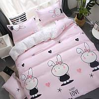 Комплект постельного белья Зайка (полуторный) Berni