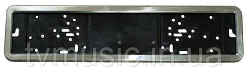 Рамка номера нерж. Vitol РН-50050