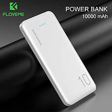 Зовнішній акумулятор FLOVEME P200 Power Bank 10000 mAh Black, фото 2