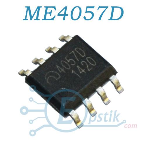 ME4057D, контроллер заряда батареи 4.3В., 1А, SOP8