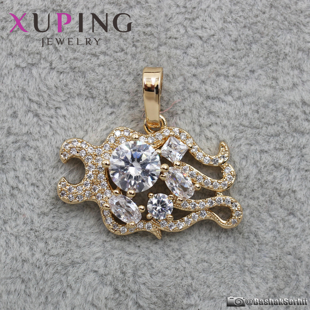 Кулон женский Знаки Зодиака Лев Xuping Jewelry (позолота) - 1114427018