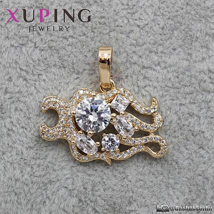 Кулон женский Знаки Зодиака Лев Xuping Jewelry (позолота) - 1114427018, фото 2