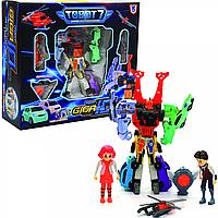 Игровой набор трансформеры роботы тоботы «Tobot Giga» 10в1 (Q1905)