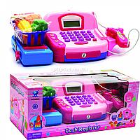 Кассовый аппарат Cashier. Игрушечный детский набор для игры в супермаркет 41х19х18 см (66029)