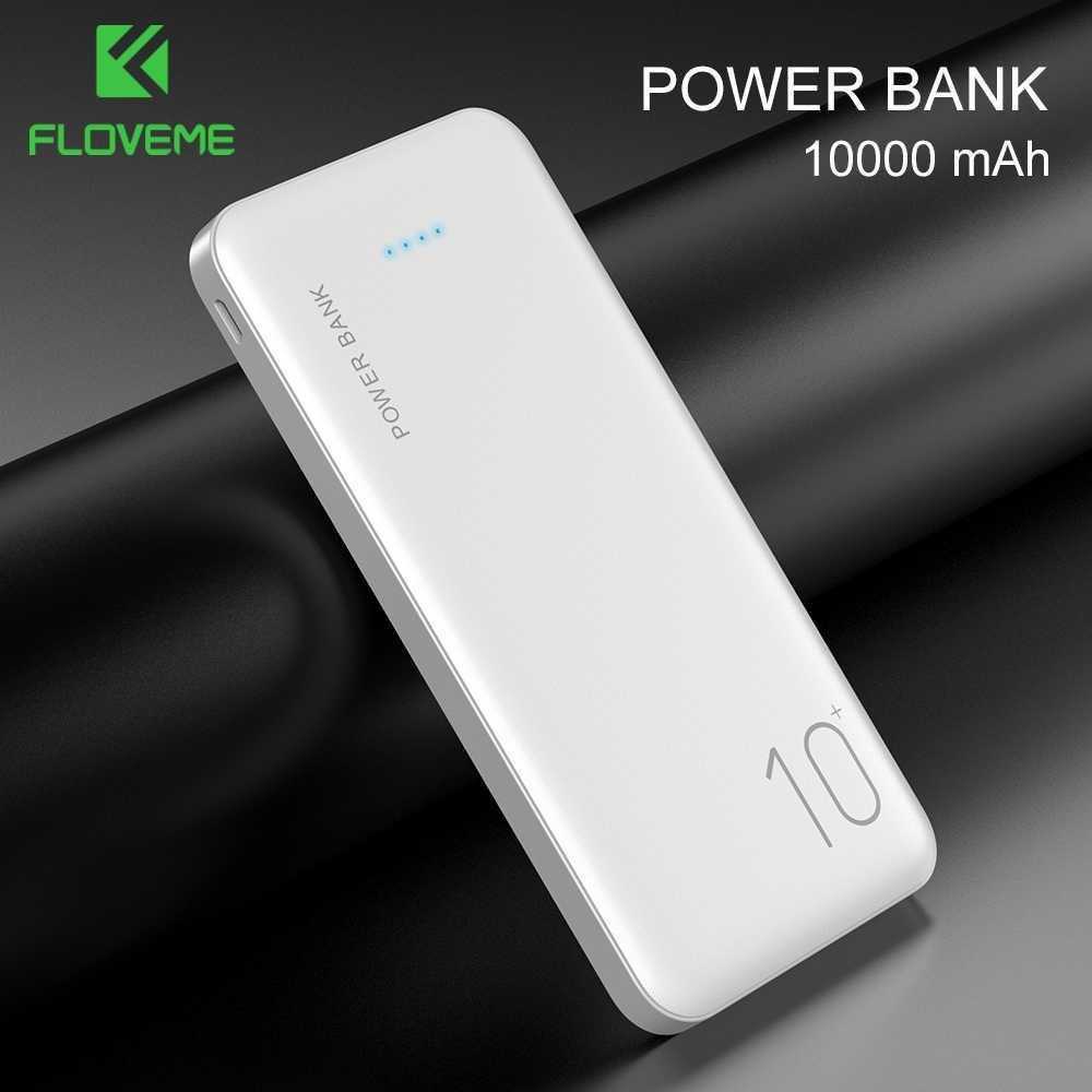 Внешний аккумулятор FLOVEME P200 Power Bank 10000 mAh White