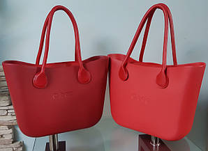 Женская сумка O bag classic в красном корпусе