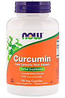 Now Curcumin From Turmeric Root Extract 120 veg caps