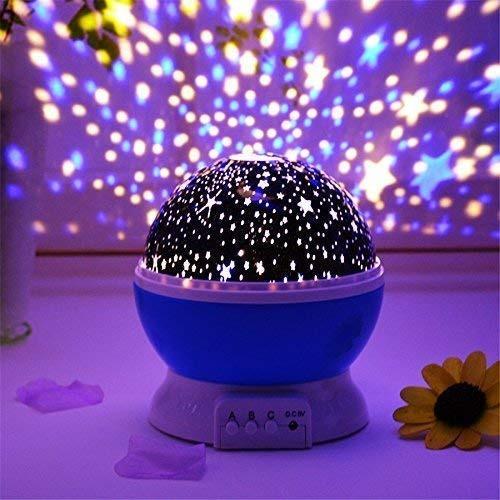 """Вращающийся детский  ночник проектор """"Звездное небо"""" Star Master"""