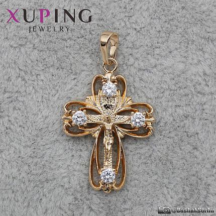 Крест Xuping Jewelry 28 х 20 мм, фото 2